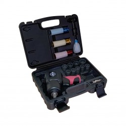 "1/2"" impact wrench kit, 1356Nm, 17 pieces"