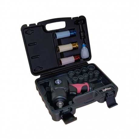 """1/2"""" impact wrench kit, 1356Nm, 17 pieces"""