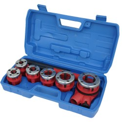 "Pipe Threading Kit, 1/4""-1.1/4"""