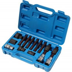 Combined socket set for alternator, 13pcs