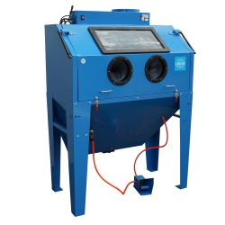 Sandblaster cabinet 420l, with door on top