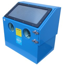 Table top sandblaster cabinet 110l