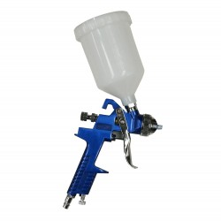 Paint sprayer gun, with a 600ml upper cup