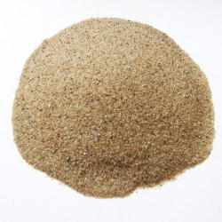 Dried, graded, germinated, high purity quartz sand, 0.63 mm (0.125-1.6 mm)