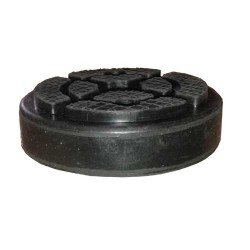 Rubber pad for post lift, round (with holes)