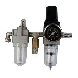 Pressure regulator and lubricator