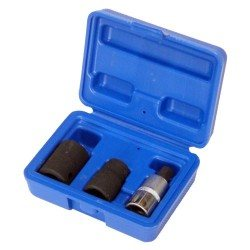 "1/2"" pentagon socket (14, 19mm) and bit (10mm) set"