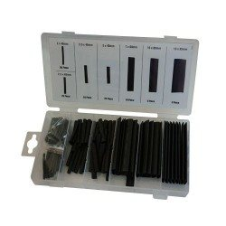 Heat shrink tubing assortment, 127pcs