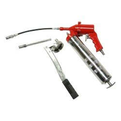 Pneumatic manual grease gun set