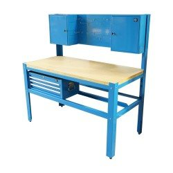 Workbench with tool panel