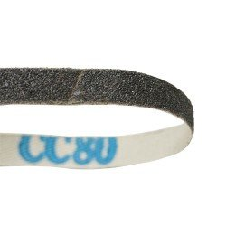 Sanding belt, 10x600mm, 80 grit