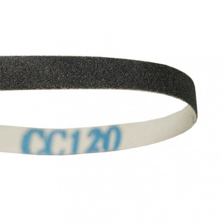 Sanding belt, 10x600mm, 120 grit
