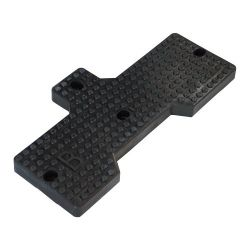 Tyre changer rubber pad