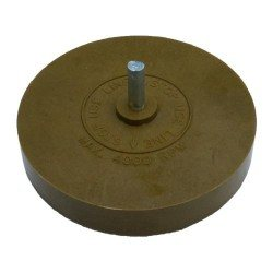 Rubber grinding wheel