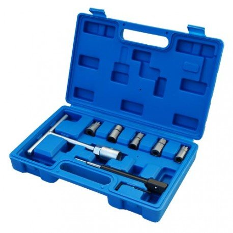 Injector seat cutter tool set, 5 reamers