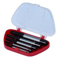 Screw extractor tool set