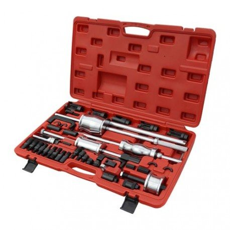 Injector puller set, fork puller, external/internal thread puller