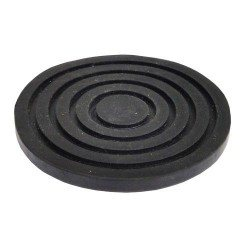Rubber pad for the T820028 and T83505 floor jacks