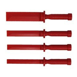 Adhesive wheel weight removal tool set