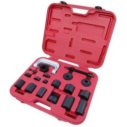Ball joint and silent block remover/installer set
