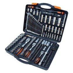 "1/2"", 3/8"", 1/4"" socket set, 219pcs"