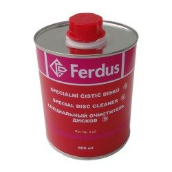 Disc cleaning fluid