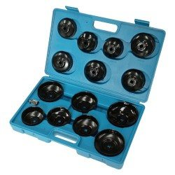 Oil filter wrench set, 15pcs