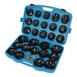 Cup-type oil filter wrench set, 30pcs