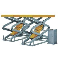 Flush mounted scissor lift, 3.5t