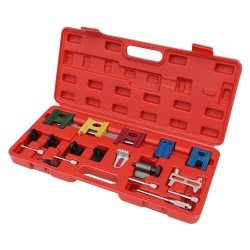 Camshaft, crankshaft, flywheel locking tool set