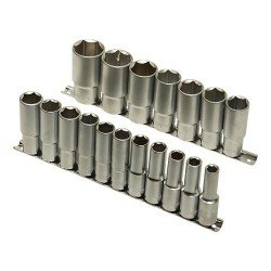 "1/2"" hex deep socket set"