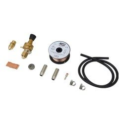 Additional kit for shielding gas welding