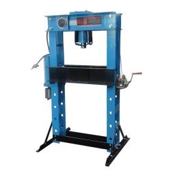 Pneumatic-hydraulic shop press, 45t