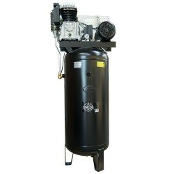 Industrial compressor 200l, 4kW, 10bar, vertical tank