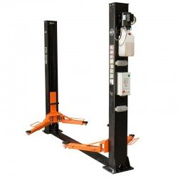 Two-post lift 4t, automatic safety lock release, 400V