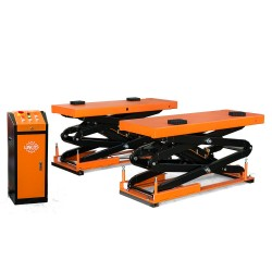 Flush mounted scissor lift, 3.5 TON 400V