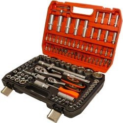 "1/2"", 1/4"" socket set, 108pcs"