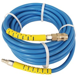"Reinforced air hose. 20bar, 1/4"", 10m"
