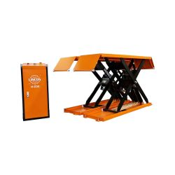 Low profile scissor lift, 3t capacity