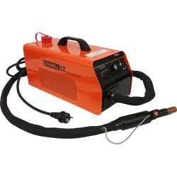 Portable workshop induction heater with water cooling