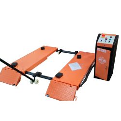 Portable scissor lift, 3.0t, 230V with electric release and mobile kit