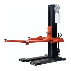 One-post lift 2.5t, electric lock release, 230V