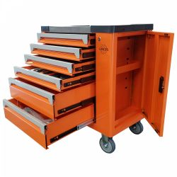 245 piece tool cabinet with tools