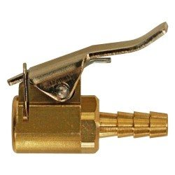 Tyre inflator nozzle for hose