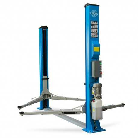 Two-post lift, 4.5t, electronic lock release