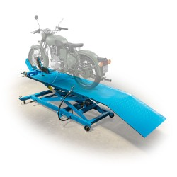 Motorcycle lift, pneumatic-hydraulic, 450kg