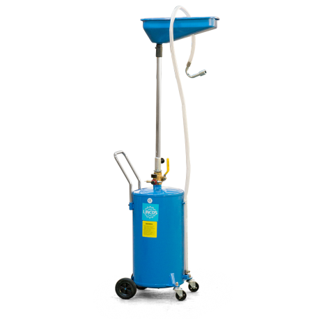 Pneumatic waste oil collector, 80l
