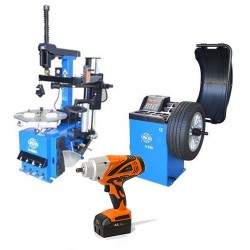Tyre changer and wheel balancer promotion