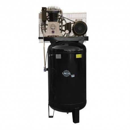 Industrial compressor 270l, 5.5kW, 10bar, vertical tank