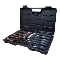 Screwdriver set, 11 pieces